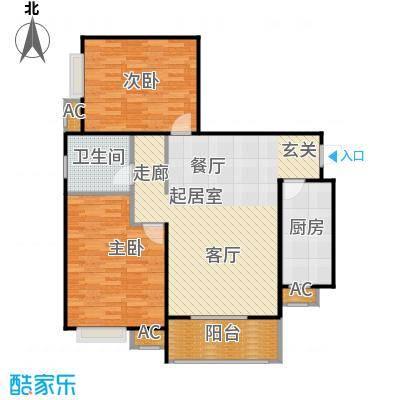市政馨苑93.90㎡户型