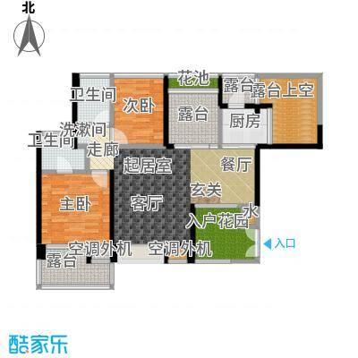雷圳碧榕湾海景花园89.16㎡2栋3单元A1户型
