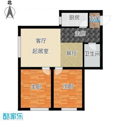 千缘爱在城90.42㎡公寓85户型