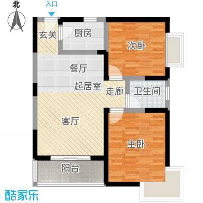 晟方佳苑87.64㎡F1户型
