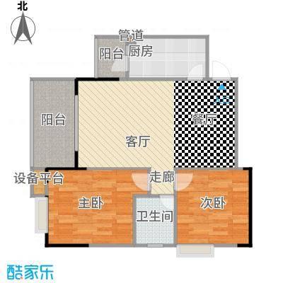 劲旅・丽景花园3号房3号楼/4号楼户型