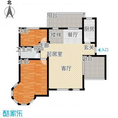 洪城比华利12、16#楼501底层户型