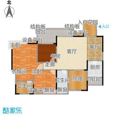 复地・上城国际公寓上城国际公寓114.00㎡75、76号楼C4户型