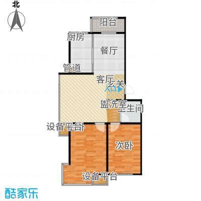 香域蓝山81.00㎡房型户型