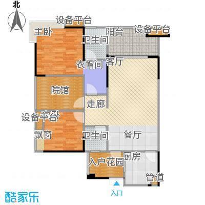 复地・上城国际公寓上城国际公寓79.00㎡77、78号楼B3户型