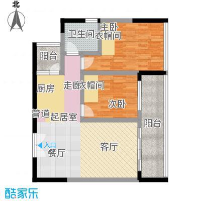 宗申・动力城动力城75.25㎡B325号户型