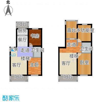 龙腾金荷苑94.46㎡最新户型