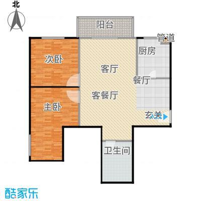 富瑞苑公寓133.62㎡户型