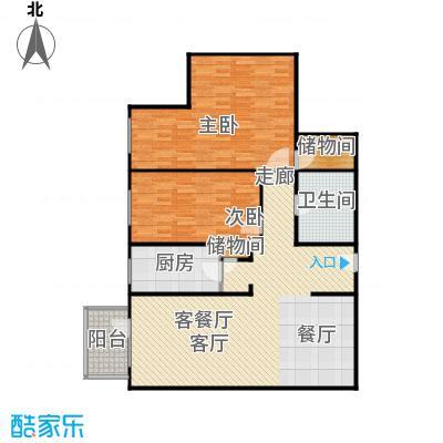 富瑞苑公寓130.65㎡户型