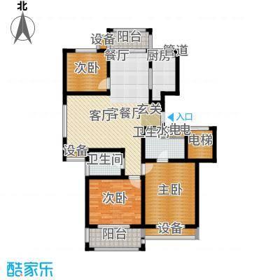 外海蝶泉山庄户型3室1厅2卫1厨