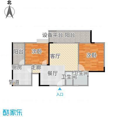 劲旅・丽景花园4号房3号楼/4号楼户型
