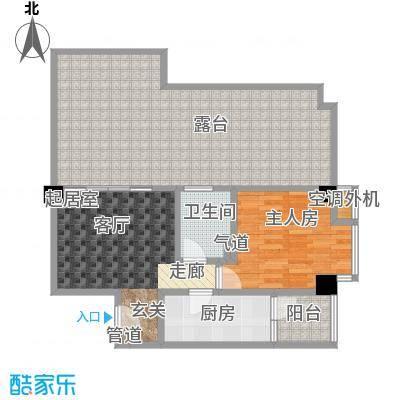 颐和雅轩65.00㎡北塔12层07单元户型
