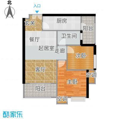 重庆天地雍江悦庭重庆天地・雍江悦庭5号楼5户型