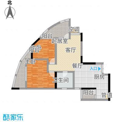 宗申・动力城动力城84.56㎡D1(1519栋)户型