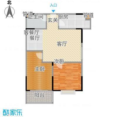 山大新苑73.33㎡B户型