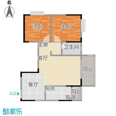 劲旅・丽景花园5号房3号楼/4号楼户型