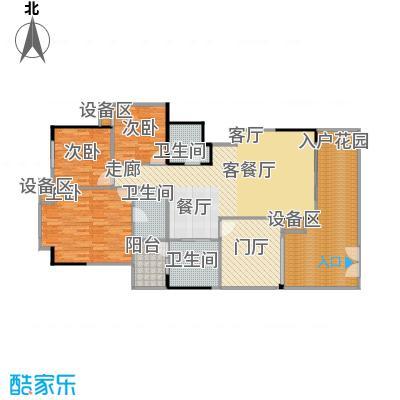 竹韵山庄户型3室1厅3卫