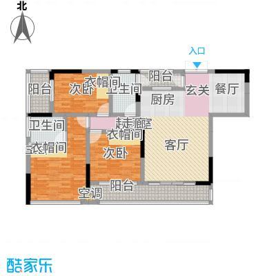 宗申・动力城动力城128.76㎡B114号户型