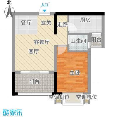 御景龙庭23.60㎡房型户型