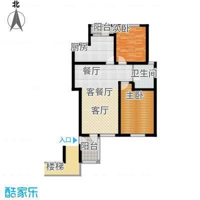 锦绣四合院91.00㎡A2户型