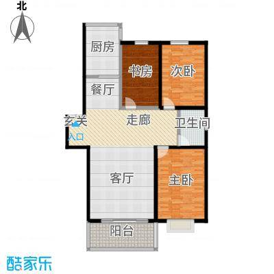 鑫丰国际119.00㎡房型户型