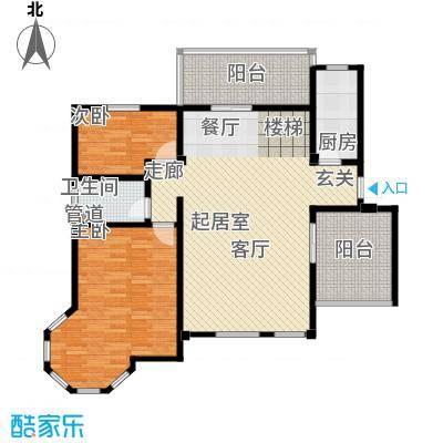 洪城比华利5、8、11#楼501底层户型