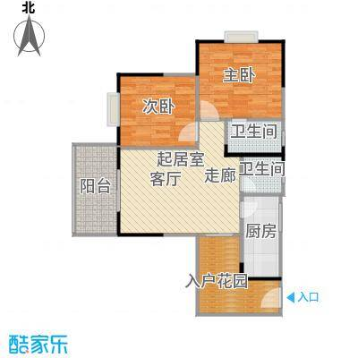 盛景郦城昌福・盛景郦城81.66㎡--198套户型