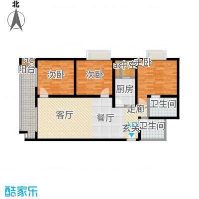 江枫雅居47.62㎡B户型