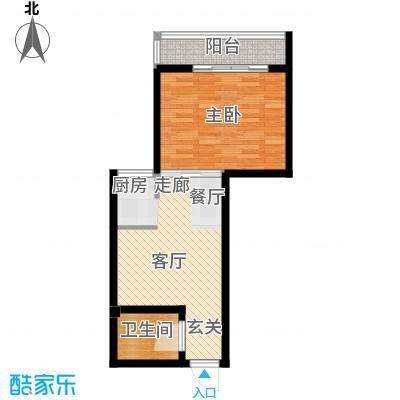 凌江翠屏户型1室1厅1卫