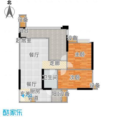 华宇・春江花月春江花月70.95㎡11号楼2号房单卫户型