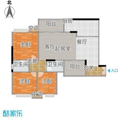 重庆天地雍江悦庭重庆天地・雍江悦庭117.00㎡5号楼3户型