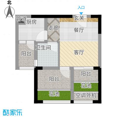 东原锦悦户型