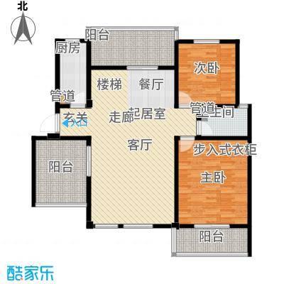 洪城比华利5、8、11#楼502低层户型