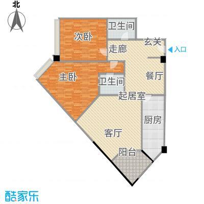 上海东方花苑13.64㎡户型