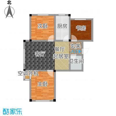 三鑫顺德园95.00㎡房型户型