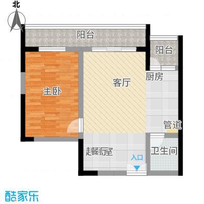 宗申・动力城动力城55.44㎡A1a(810栋)户型