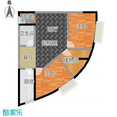 金江大厦74.71㎡――29套户型