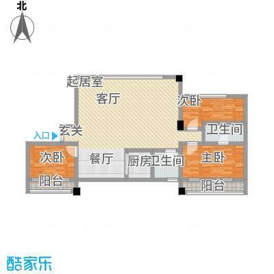 鼎泰国际89.00㎡房型户型