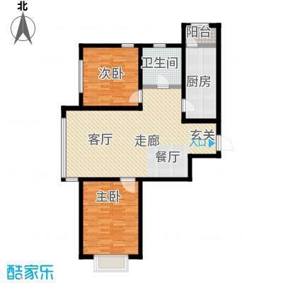 幻景家园94.09㎡3号楼A-1户型