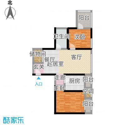 海河・金湾公寓2-f(1)户型