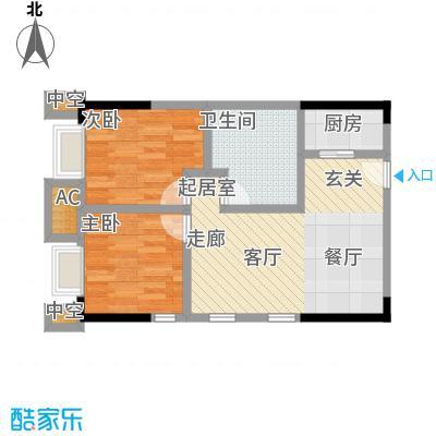 协信中心52.05㎡1号房户型-T