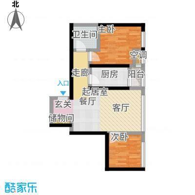 海河・金湾公寓2-g户型