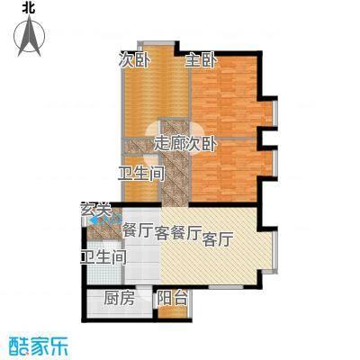 北京上舍126.00㎡1号楼C户型