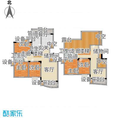 汇名公寓220.00㎡复式H户型