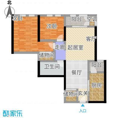 海河・金湾公寓2-d户型