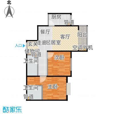 东方夏威夷3#楼D户型