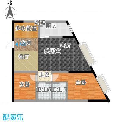 金江大厦81.78㎡――29套户型