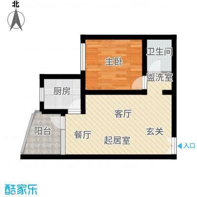平安家园45.90㎡房型户型