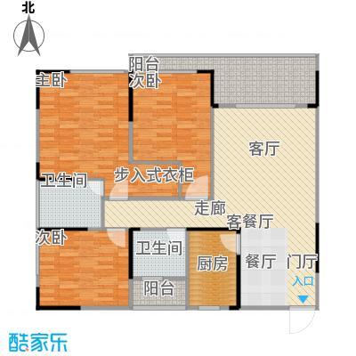 聚信广场92.16㎡房型户型