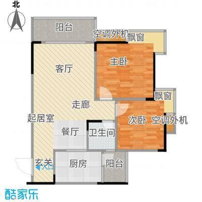 达飞玖隆城54.92㎡房型户型